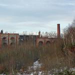 Vestiges du puits Arthur-de-Buyer vus depuis son terril rouge