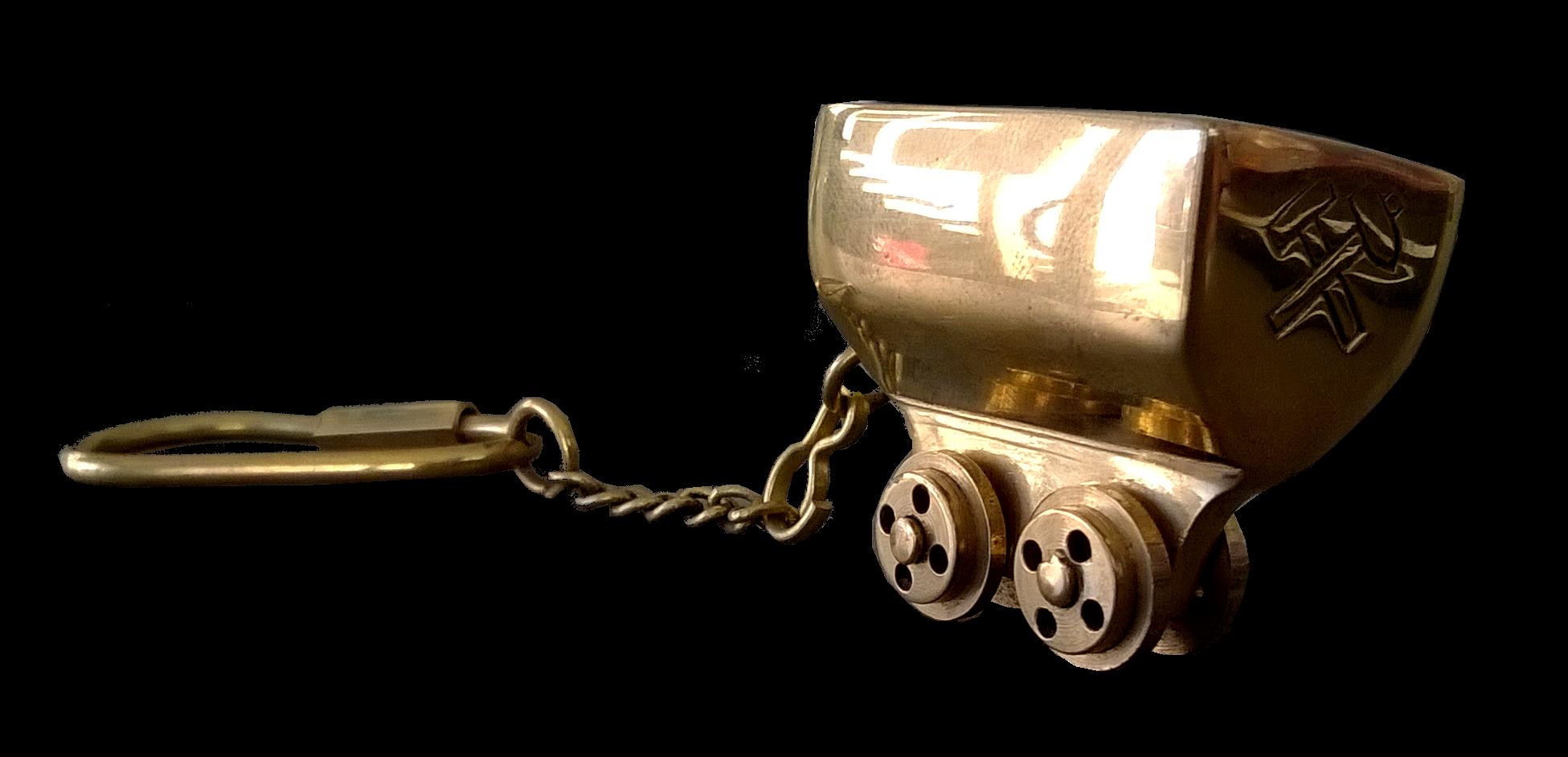 Porte-clefs wagonnet