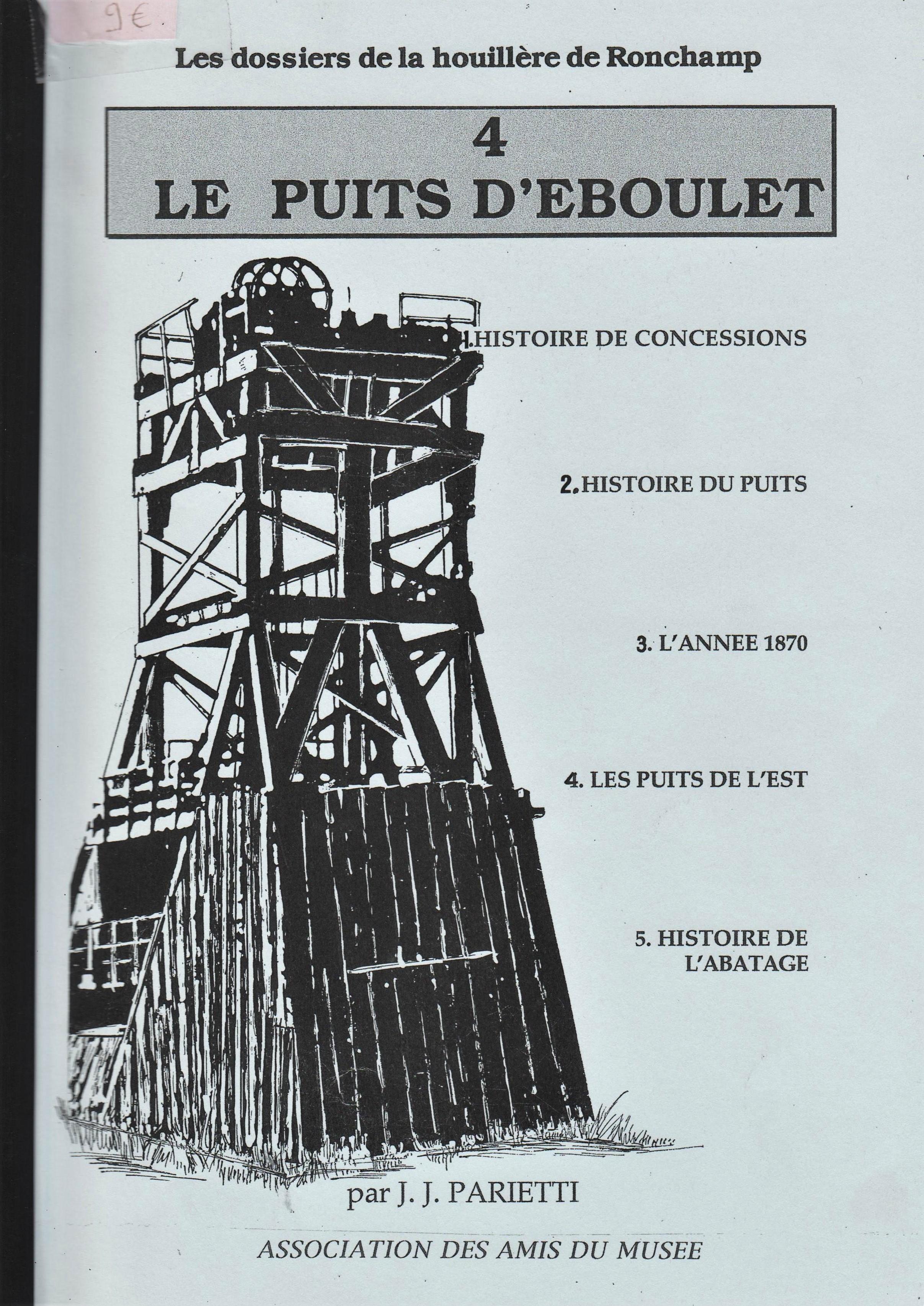 Le puits d'Eboulet