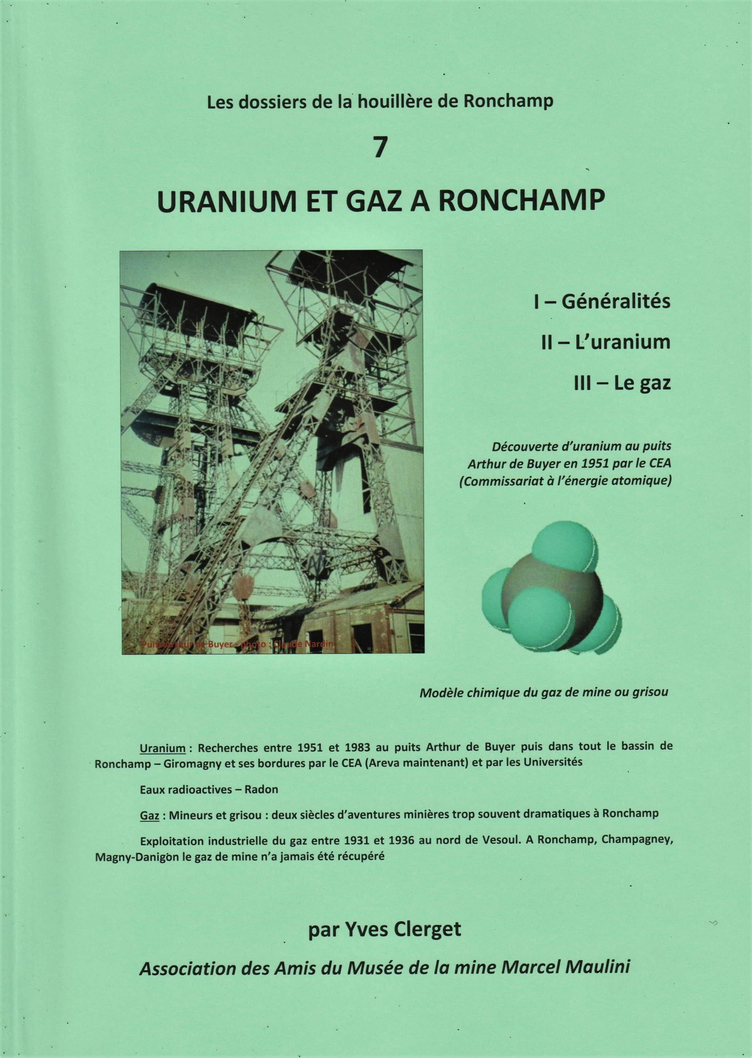 Uranium et gaz à Ronchamp